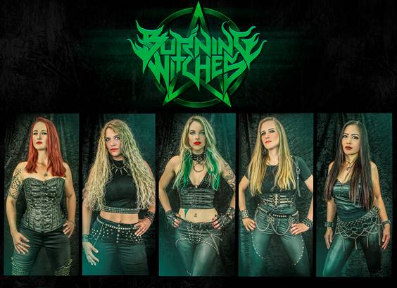 burning-witches-release-new-single-and-new-video-'circle-of-five'