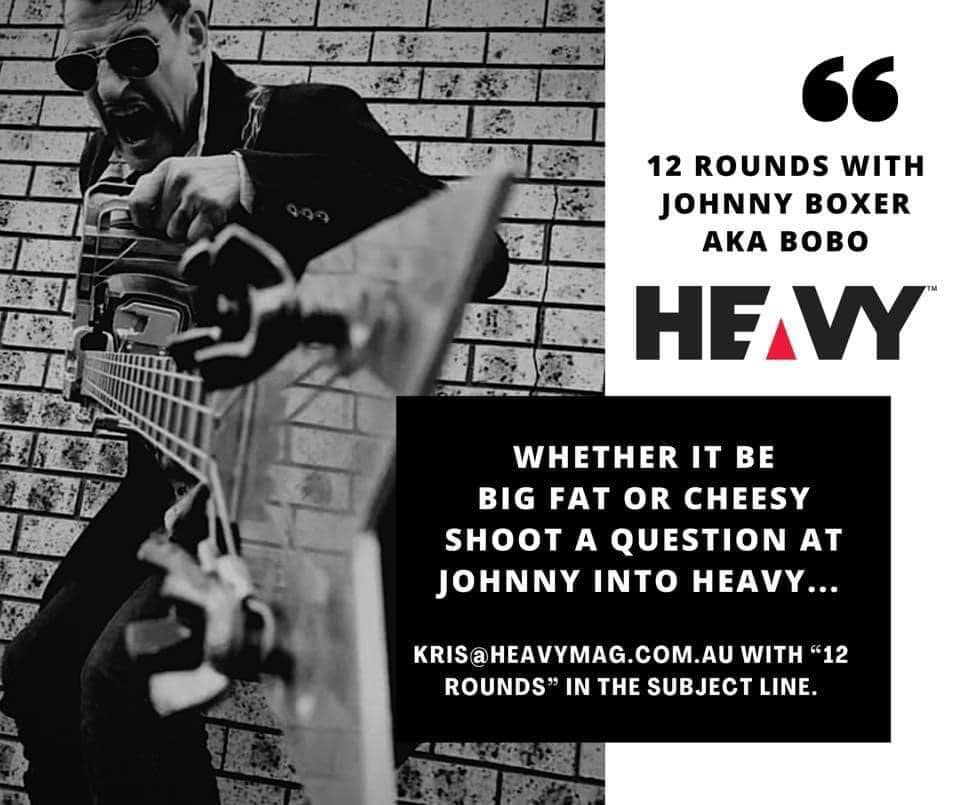 """heavy-regular:-""""12-rounds-with-johnny-boxer""""-ak.a-bobo-#6"""